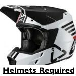 Helmets Required